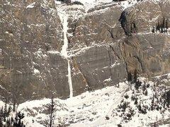 Rock Climbing Photo: Bourgeau Left-Hand in fat!