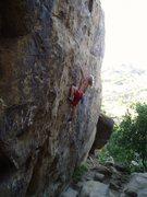 Rock Climbing Photo: Readon soloing Scurf. (c) Reardon Collection.