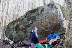 Rock Climbing Photo: Golf Course