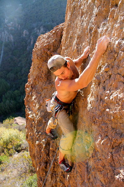 Rock Climbing Photo: fun climb! the top is a bit funky but if you can r...