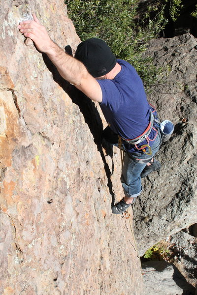Rock Climbing Photo: great route for a warm up