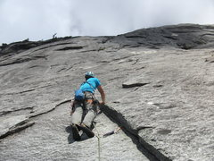 Rock Climbing Photo: Pitch 2 of The Page (this is not counting the appr...