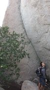 Rock Climbing Photo: Number #756 in Kennedy/Hubbard Guide.
