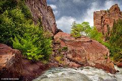 Rock Climbing Photo: Eldo after the flood.  © 2013 Ken Cangi, All Righ...