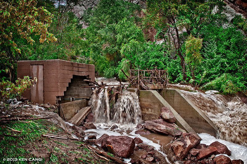 Eldo Flood.<br> <br> © 2013 Ken Cangi, All Rights Reserved.