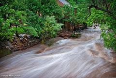 Rock Climbing Photo: Eldo Flood.  © 2013 Ken Cangi, All Rights Reserve...