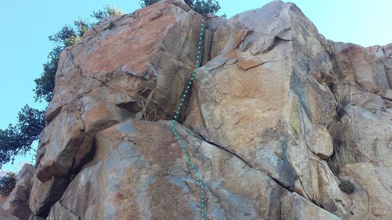 Rock Climbing Photo: Slice & Dice