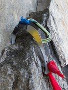 Rock Climbing Photo: It pretty much saved my life.