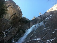 Rock Climbing Photo: Descending Goofers. What an awesome location!