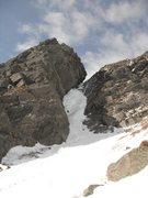 Rock Climbing Photo: Matt Ritter the crux pitch