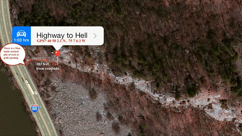 Highway to hell location