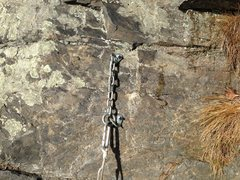 Rock Climbing Photo: Belay station #1