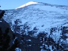 Rock Climbing Photo: All Mixed Up vicinity.