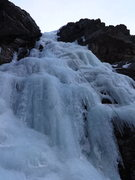 Rock Climbing Photo: NW Gully-Thatchtop ice.