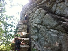 Rock Climbing Photo: great fun warm up for the area
