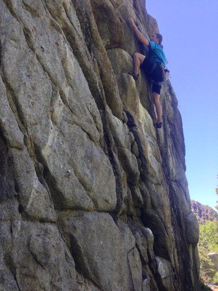 Rock Climbing Photo: M Rosenberg