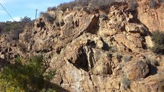 Rock Climbing Photo: Bonita Wall