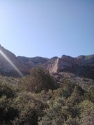 Rock Climbing Photo: view of Lime Kiln on the approach trail.