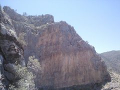 Rock Climbing Photo: looking out on top of pitch 2 on unknown route on ...