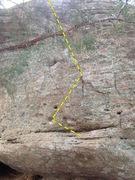 Rock Climbing Photo: Tipless.