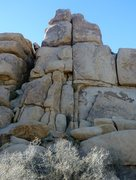 Rock Climbing Photo: Cosmic Crack of Some Intrigue, on Top Hat Rock at ...