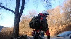Rock Climbing Photo: Pack and Rack. (Yes thats a Ruck, and love it)