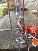 "Rock Climbing Photo: mammut 8mm phoenix half rope with PAS ""fricti..."