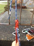 Rock Climbing Photo: mammut 8mm phoenix half rope with nylon sling &quo...