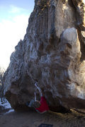 Rock Climbing Photo: The second move for the V4 description in the comm...