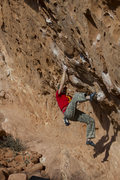 Rock Climbing Photo: The standard finish to the Blowouts Traverse.