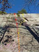 Rock Climbing Photo: Currahee - Winter Solstice