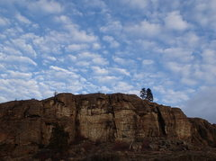 Rock Climbing Photo: 5.13 and Weeping Walls from the west (top of OTIC ...