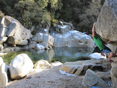 Rock Climbing Photo: Bun.
