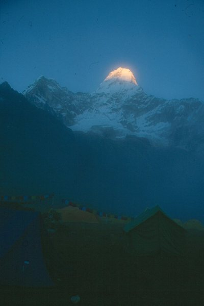 Rock Climbing Photo: Base Camp, Ama Dablam, Khumbu Region, Himalayas, N...