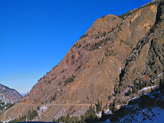 Rock Climbing Photo: Colorado US Highway 550.