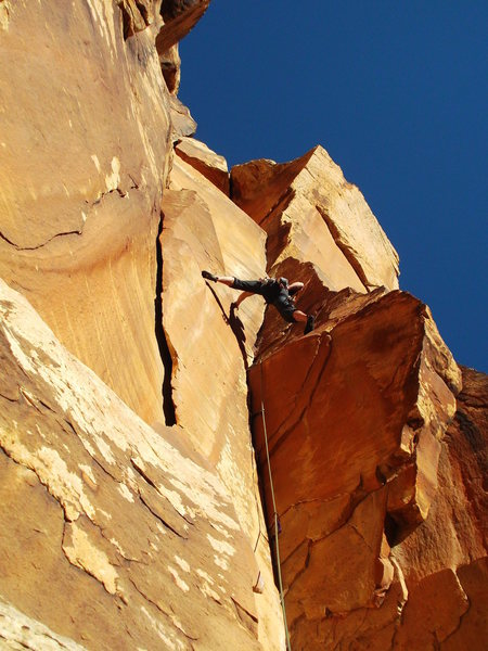 Rock Climbing Photo: 1st pitch Red Zinger