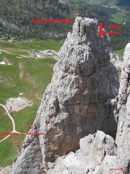 Torre Grande West Summit