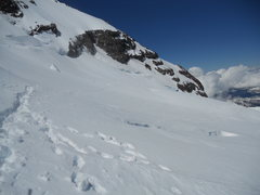 Rock Climbing Photo: Looking back at our tracks on Disappointment Cleav...