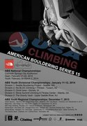Rock Climbing Photo: USAC ABS15 poster
