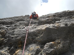Rock Climbing Photo: Pitch Six