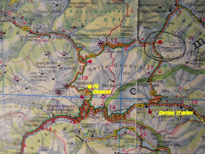 Sella Approach Map