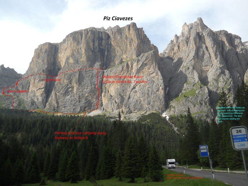 Rock Climbing Photo: Piz Ciavezes