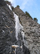 Rock Climbing Photo: A Hyalite fave; conditions vary. Can be drippy. A ...