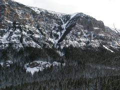 "Rock Climbing Photo: ""Winter Dance"" again, far away but gigan..."