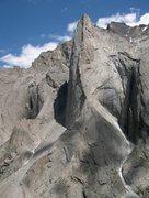 Rock Climbing Photo: Peak Slesova 4240m
