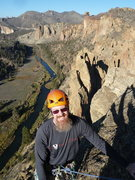 Rock Climbing Photo: Topping out on Pitch 5 on Wherever I may Roam 5.9 ...
