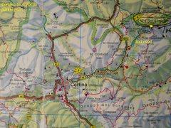 Rock Climbing Photo: Road-map to Tre Cima/Drei Zinnen