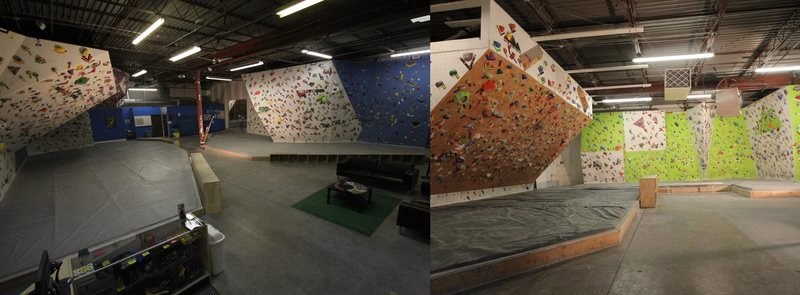 Rock Climbing Photo: Gym overview