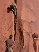 Rock Climbing Photo: place high an move to da jug