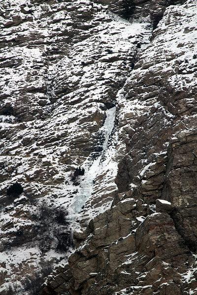 Willard Canyon Falls 12/18/13